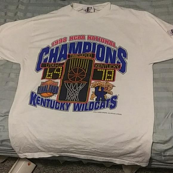 a4b4edfd4 LoGo Athletic Shirts | 1998 Kentucky Wildcats T Old School Vintage ...